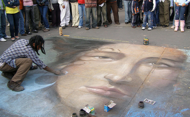 parque de lima peru What Chalk and Artistry Can Do – 20 Magnificent and Enthralling Samples of Chalk Art