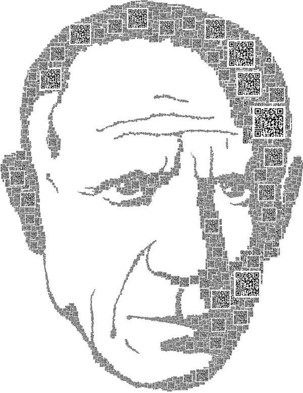 picasso poster made with qr codes Are QR Codes a Marketing Fad?
