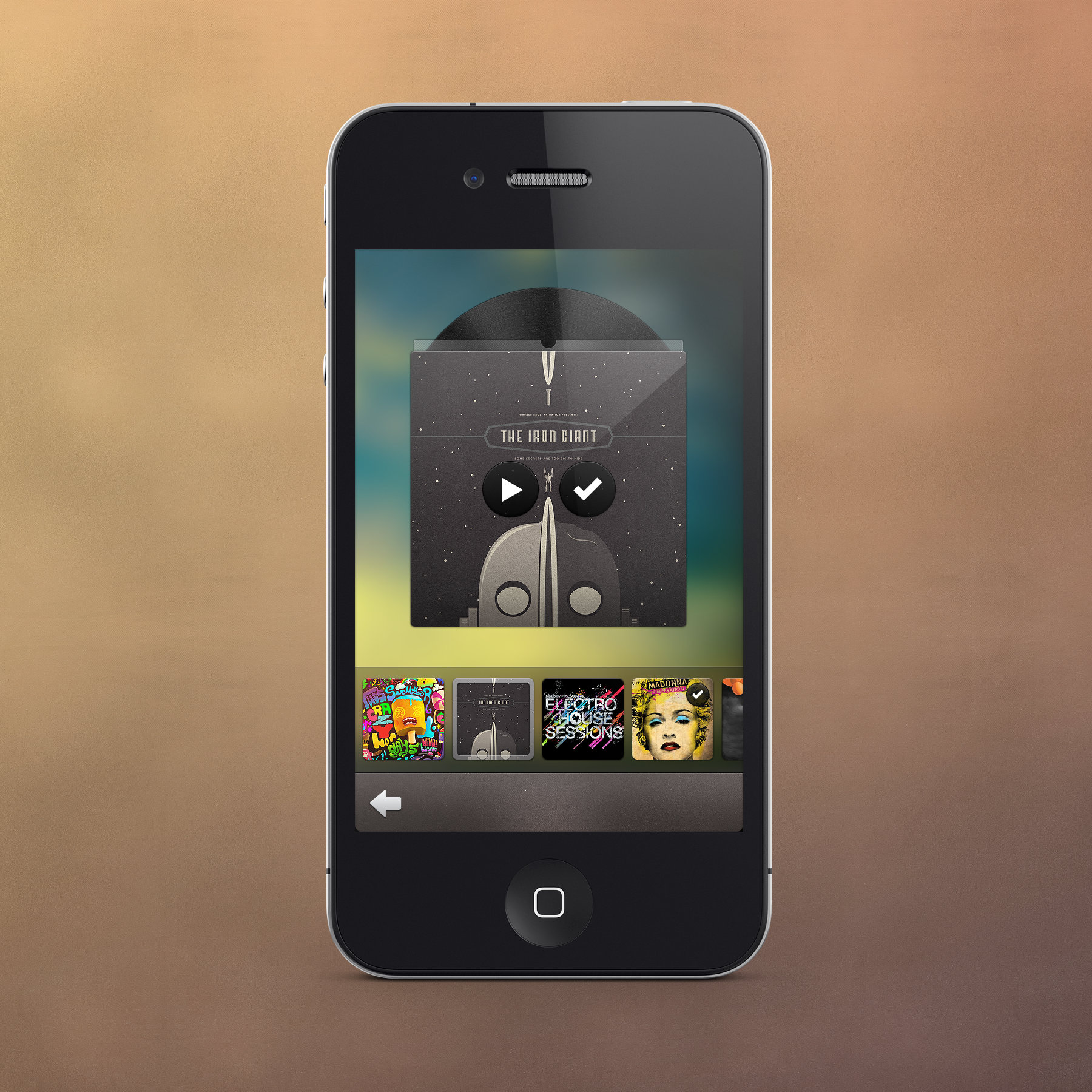 pretty pixels1 40 Quality Examples of iOS User Interface Designs