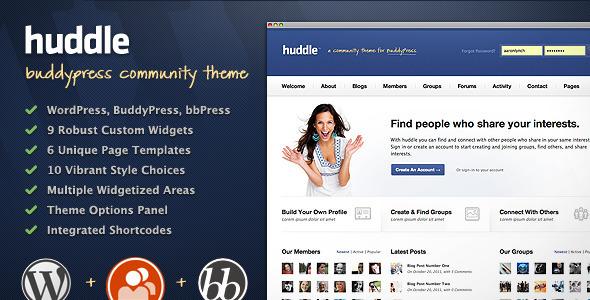 10+ Amazing Premium Buddypress Wordpress Themes