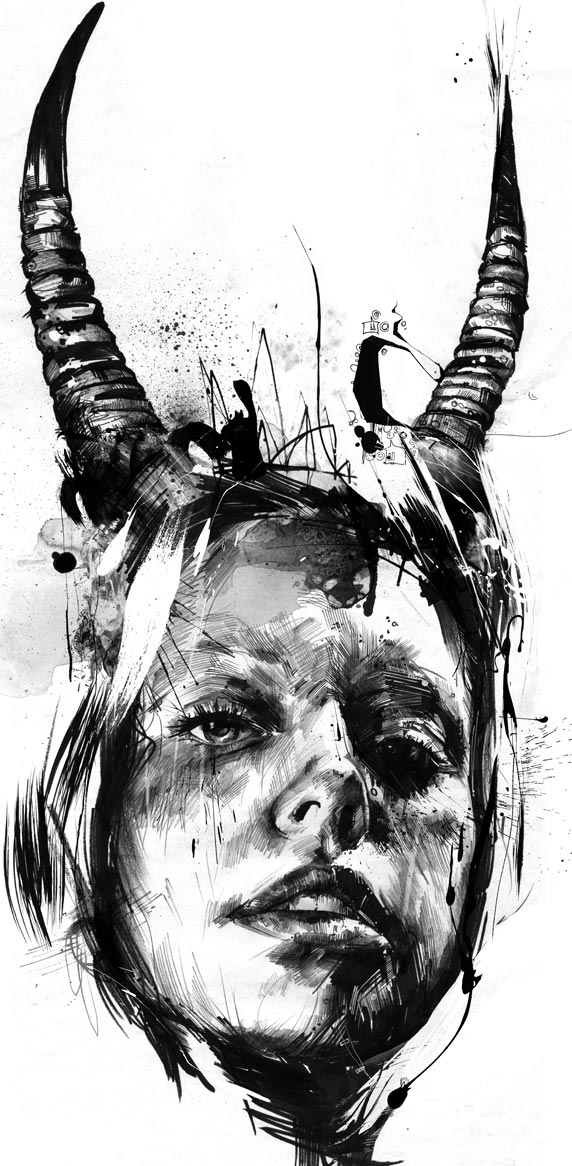 russ mills new2012 03 20 Excellent Abstract Illustrations by Russ Mills