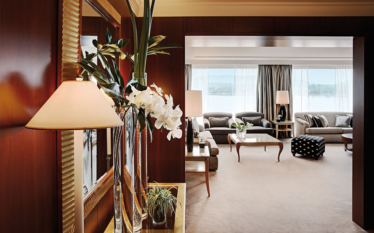 suite presidentielle 031 Optimized for Opulence: 7 Incredible Hotel Designs