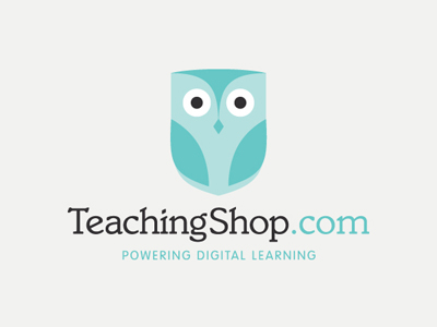 teachingshoplogo1 35 Wisdom Packed Owl Logo Designs