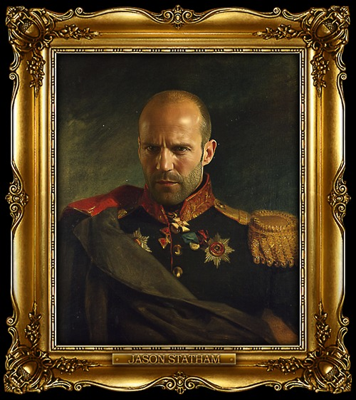 tumblr lvln6ggxux1qi5850o1 1280 Celebrities Digitally Painted As Russian Generals