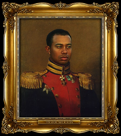tumblr lwbl4yq7pg1qi5850o1 1280 Celebrities Digitally Painted As Russian Generals