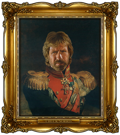 tumblr lzwzzcikkl1qi5850o1 1280 Celebrities Digitally Painted As Russian Generals