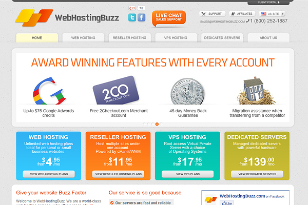 web hosting buzz website WebHostingBuzz Giveaway – 3 Web Hosting Accounts & Domains