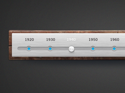 wood and brushed metal timeline free psd1 50 Stunning Pixel Perfect PSD Freebies #3