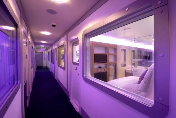 yotel 2 Sleep Utopia: 5 Hip Capsule Hotels from Around the World