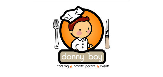 05 danny boy catering - Logo Designs Ideas