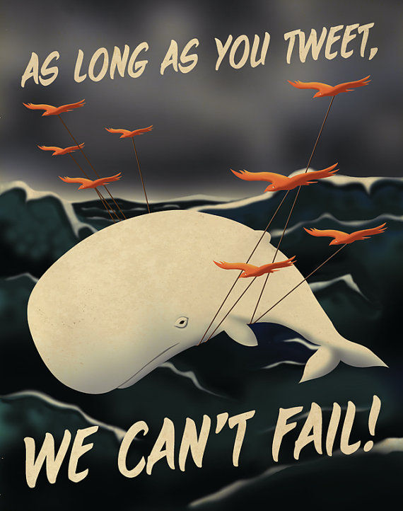 2345 Social Media Propaganda Posters by Aaron Wood