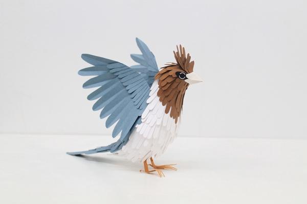 3 Paper Birds by Diana Beltran Herrera