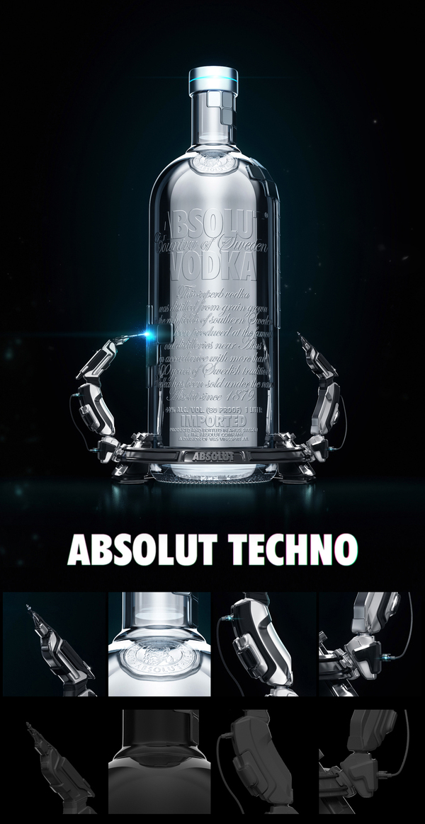 A World Icon: Absolut Vodka Advertisements and Designs