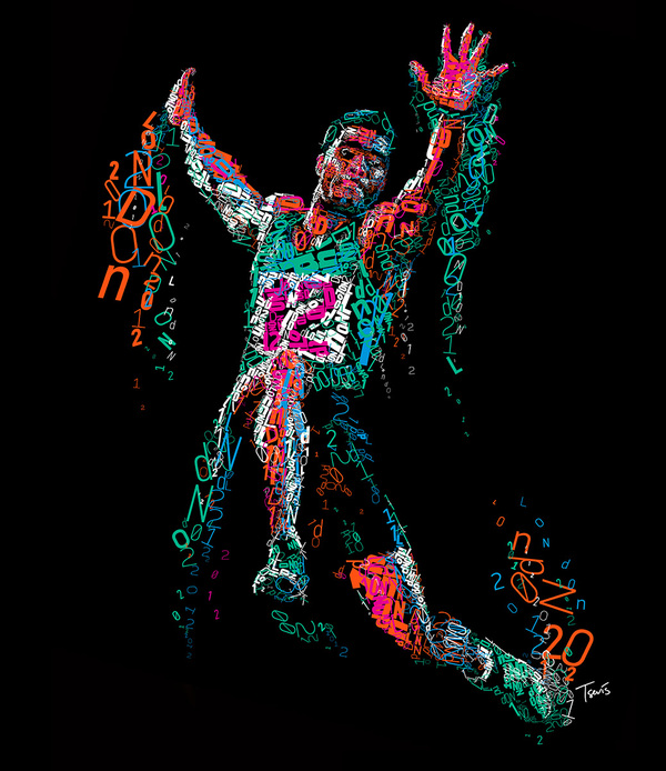 404b7d0b11332f7f825819f7895a96561 Inspirational Mosaic Illustrations by Charis Tsevis