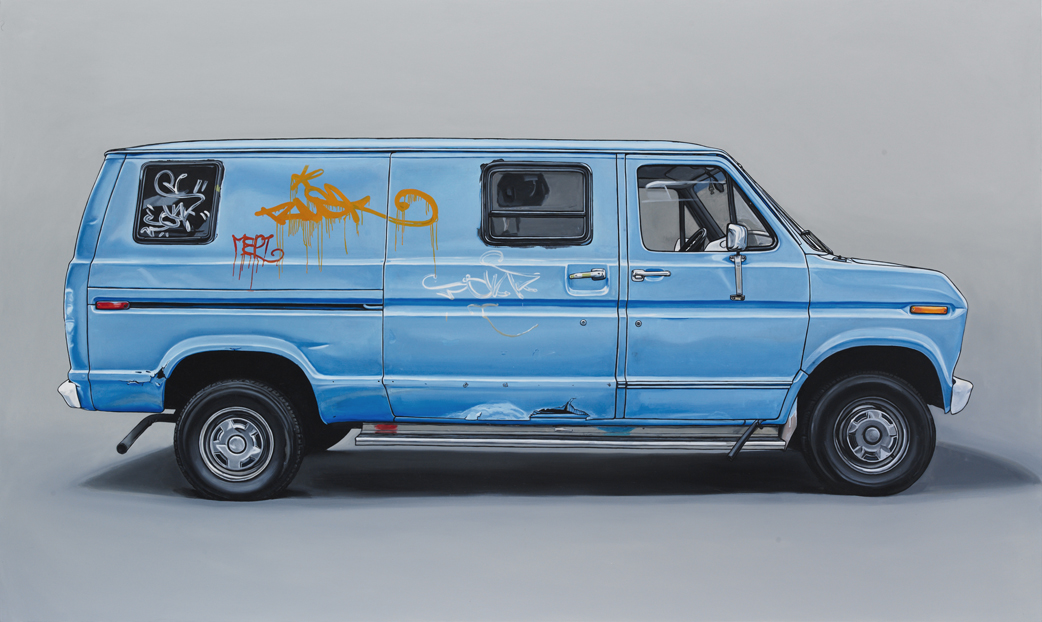 6 allen2 Oil Paintings of Retro Vehicles by Kevin Cyr