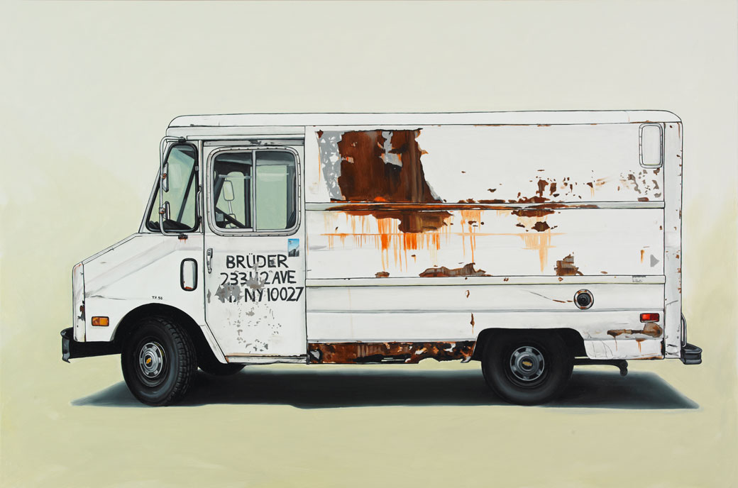 6 greatjones Oil Paintings of Retro Vehicles by Kevin Cyr