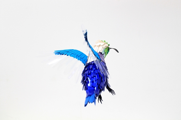 9 Paper Birds by Diana Beltran Herrera
