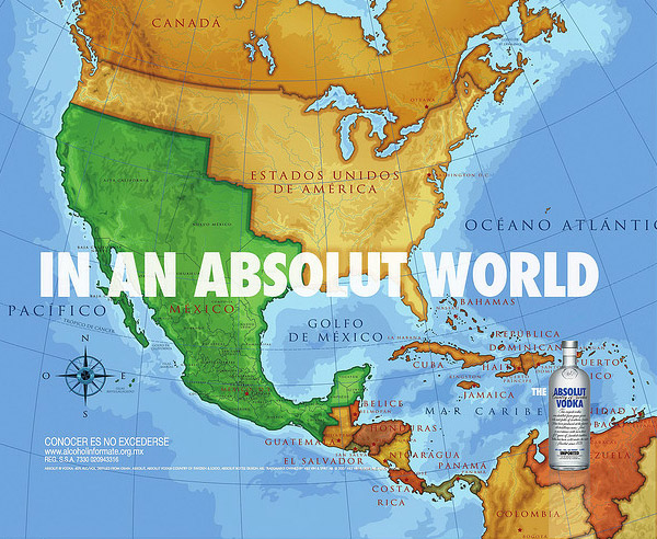 absolut world A World Icon: Absolut Vodka Advertisements and Designs