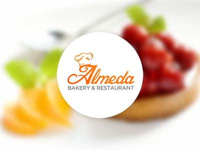 almeda1 30 Cool Food Logo Design Ideas