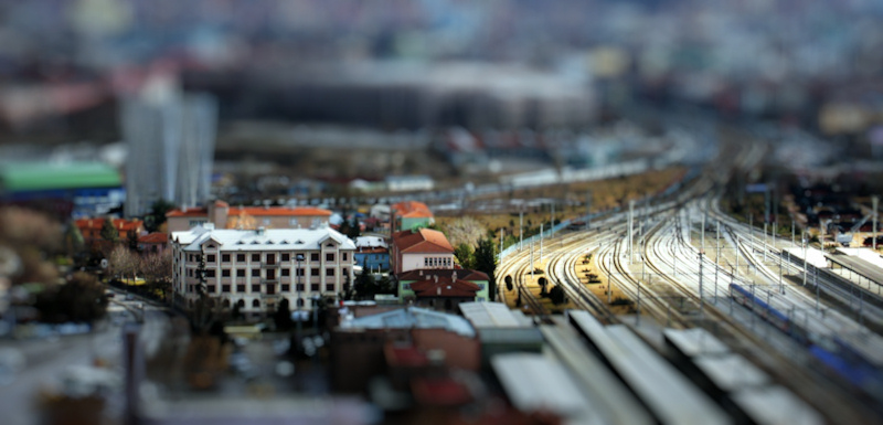 ankara fake tilt shift by cheyrek1 40 Wonderful Examples of Tilt Shift Photography