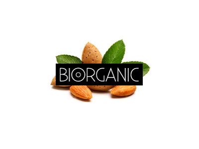 biorganic1 30 Cool Food Logo Design Ideas