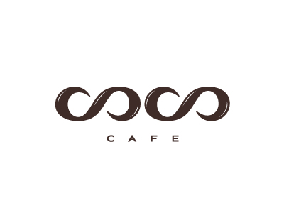 coco cafe logo1 30 Cool Food Logo Design Ideas