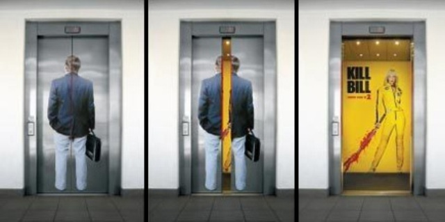 creative elevator ads 91 18 Creative Elevator Advertisements
