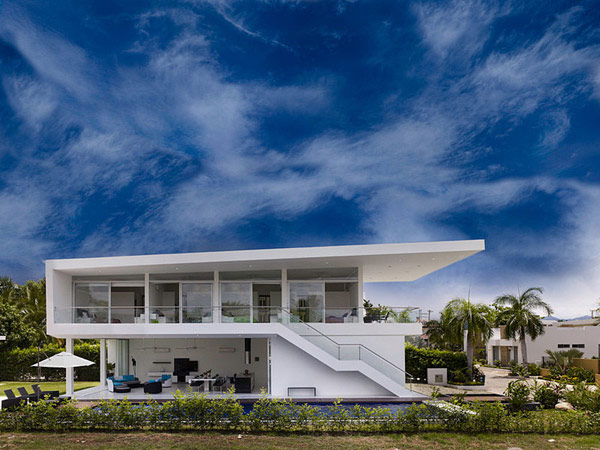 house gm1 01 GM1: Minimalist House Residence in Colombia