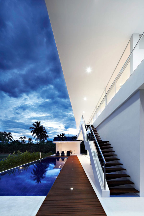 house gm1 05 800x1200 GM1: Minimalist House Residence in Colombia