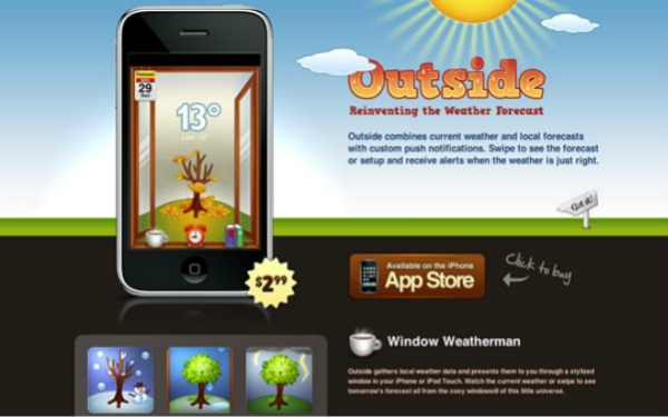 image018 30 Nice and Catchy Websites for iPhone Apps