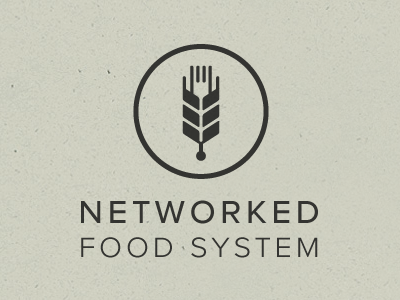 networkedfoodsystem 4001 30 Cool Food Logo Design Ideas