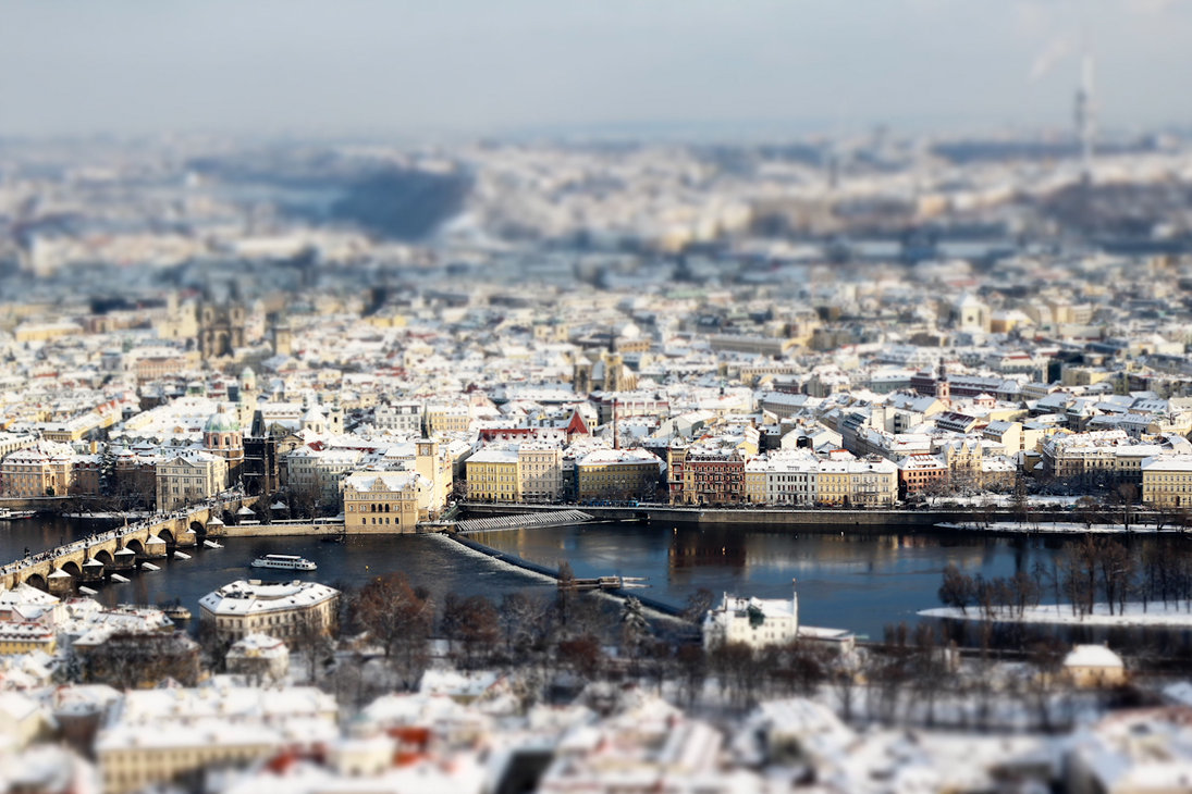 prague tilt shift 3 by hombre cz d36ee951 40 Wonderful Examples of Tilt Shift Photography