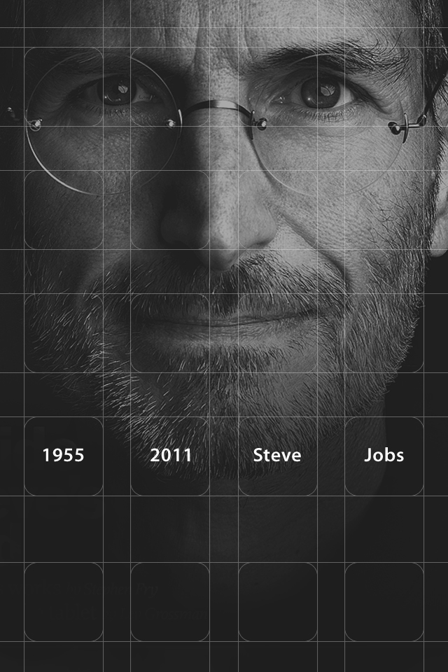 rip steve jobs 02 75+ Free Retina Display iPhone Wallpapers