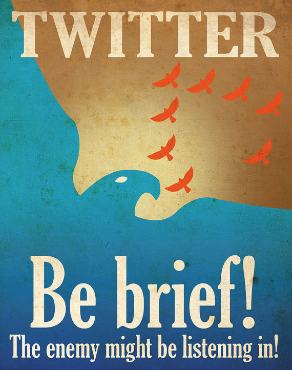 rtgfb Social Media Propaganda Posters by Aaron Wood