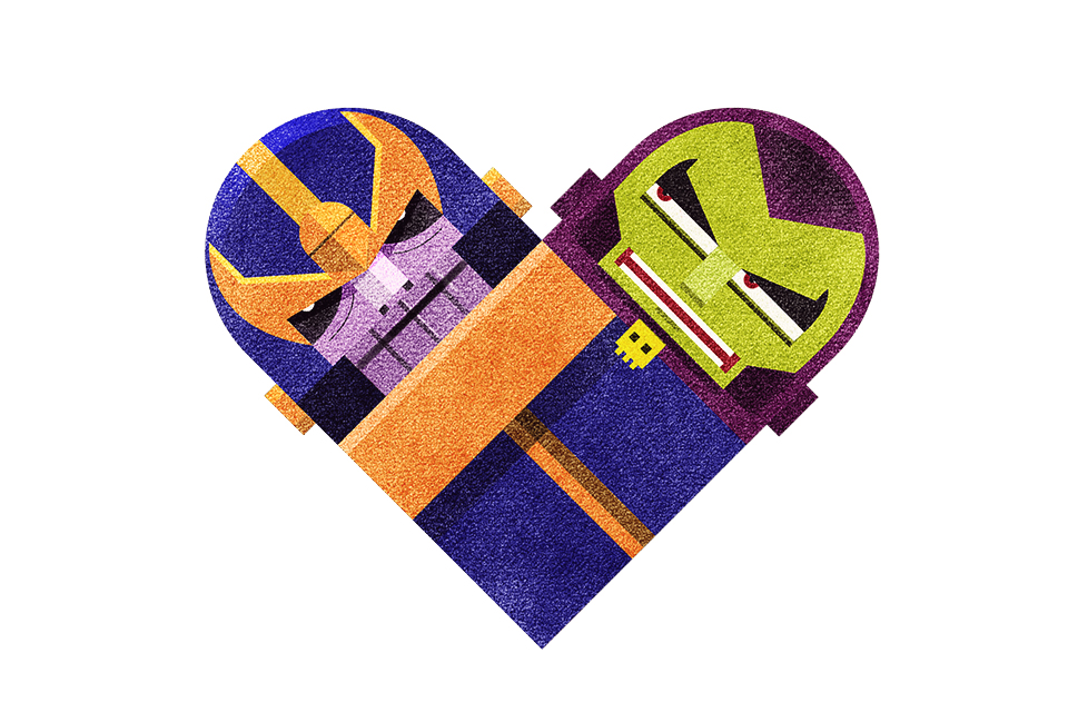 tumblr m3jgjrtopn1rpywm4o1 r2 12801 Love and Hate Versus Hearts by Dan Matutina