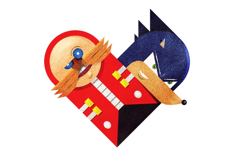 tumblr m3zscydp641rpywm4o1 12801 Love and Hate Versus Hearts by Dan Matutina