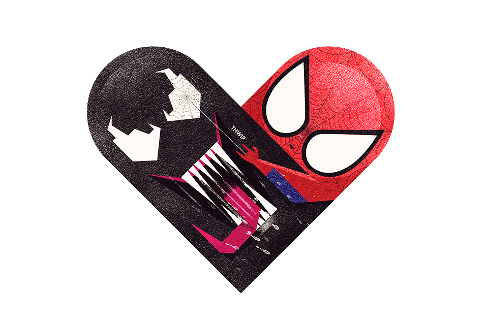 tumblr m5308wnght1rpywm4o1 12801 Love and Hate Versus Hearts by Dan Matutina