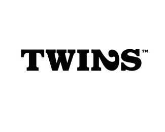twins1 40 Clever Minimal Logo Designs