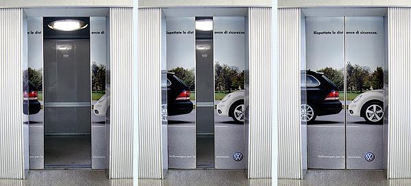 volkswagen 18 Creative Elevator Advertisements