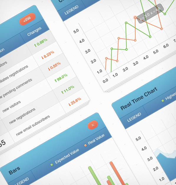 vweb statistics1 20+ Premium Freebies from Themes Kingdom