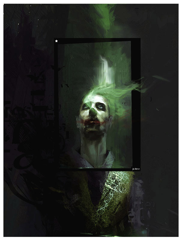 142 large1 Why So Serious: 30 Incredible Joker Illustrations