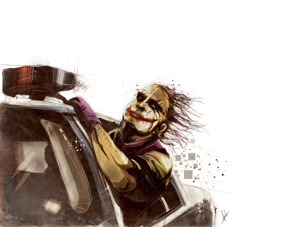 167590 4713472 lz1 Why So Serious: 30 Incredible Joker Illustrations