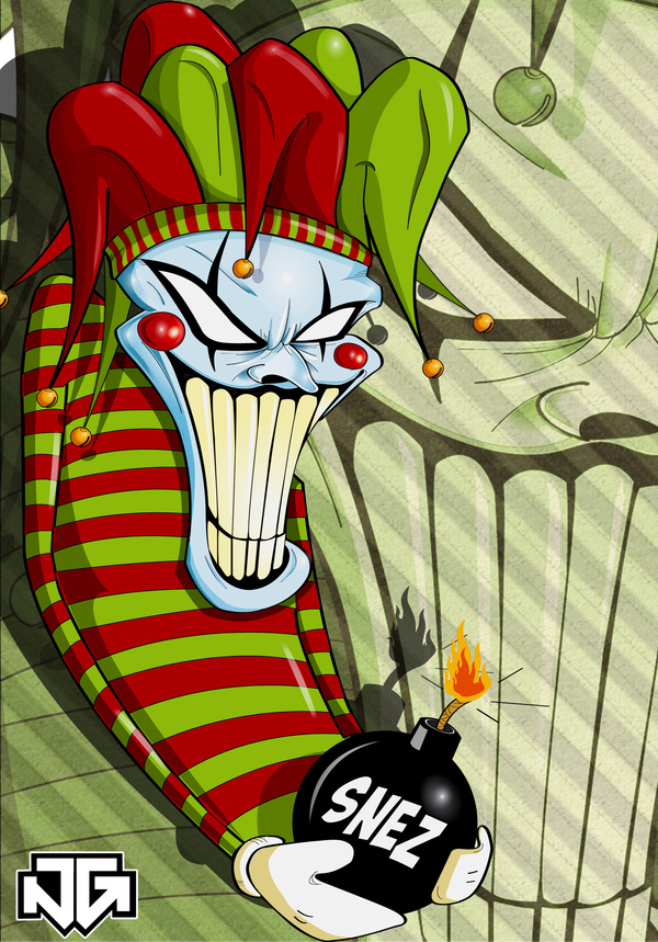 1f923d9cabba78dca527c1d92247c41a1 Why So Serious: 30 Incredible Joker Illustrations