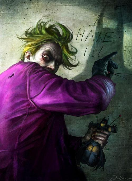 23 the joker1 Why So Serious: 30 Incredible Joker Illustrations