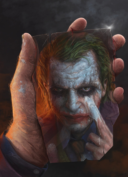 259453 1367870 lz1 Why So Serious: 30 Incredible Joker Illustrations