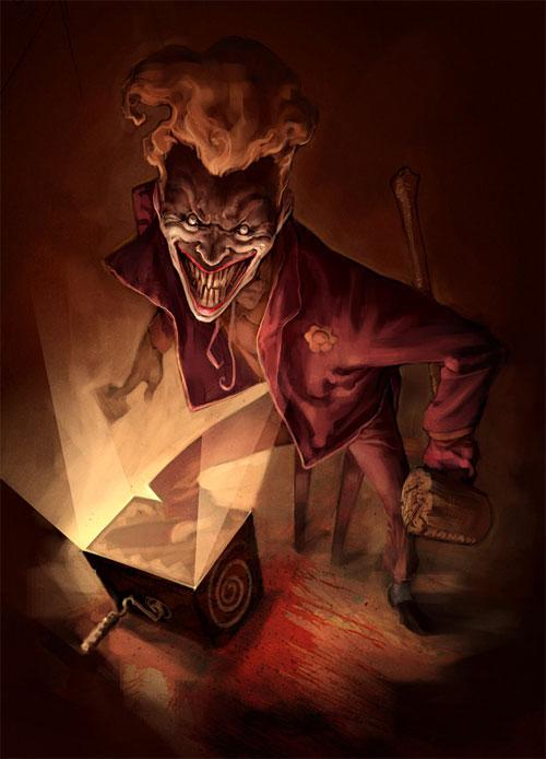 30 joker reloaded1 Why So Serious: 30 Incredible Joker Illustrations