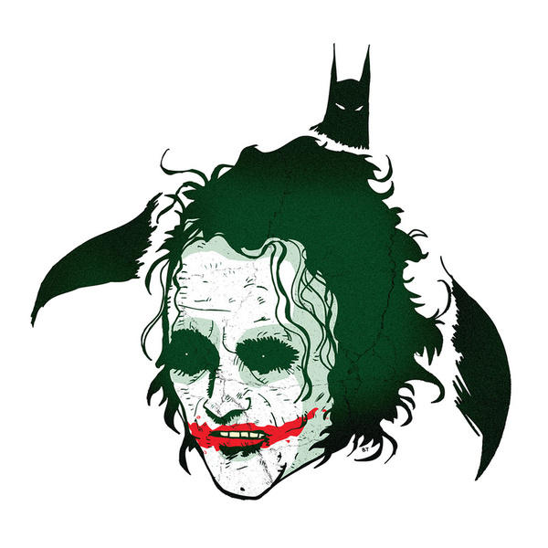 376214 11132876 lz1 Why So Serious: 30 Incredible Joker Illustrations
