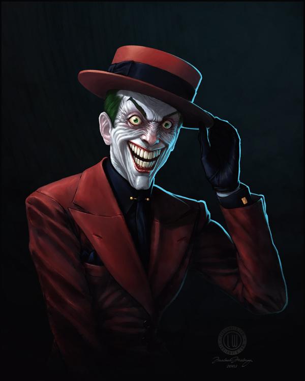49da56d273ba0974abd2a97128c756201 Why So Serious: 30 Incredible Joker Illustrations