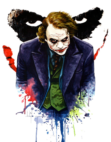 505207 2623963 lz1 Why So Serious: 30 Incredible Joker Illustrations