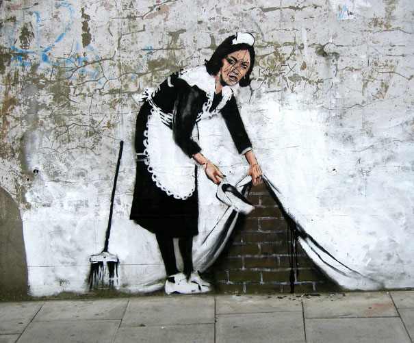 "80 beautiful street crimes done by banksy ""You are not Banksy"" by Nick Stern"